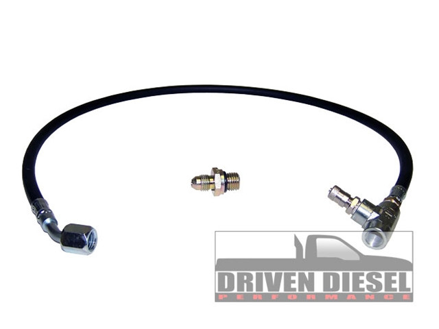 Driven Diesel 6.0 Fuel Pressure Gauge Hose Kit (This item is drop shipped from Driven Diesel)