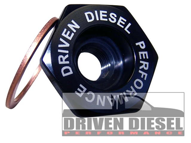 Driven Diesel Intake Air Heater Delete Plug (this item is drop shipped directly from Driven Diesel)