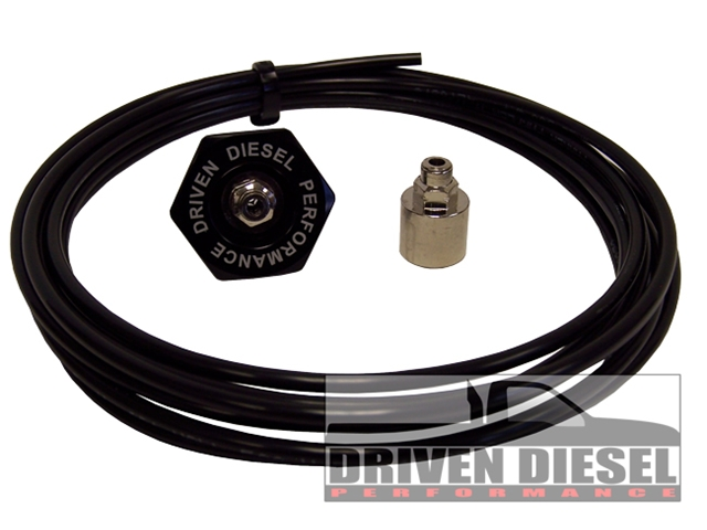 Driven Diesel Intake Air Heater Delete Boost Gauge Install Kit (This item is drop shipped from Driven Diesel)