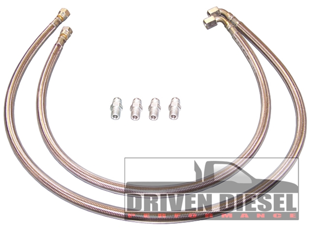 Driven Diesel 6.0L Coolant Return Kit (This item is drop shipped from Driven Diesel)