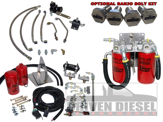 Driven Diesel OBS 94-97 RACE Fuel Delivery Kit WITH Sump (This item is drop shipped from Driven Diesel)