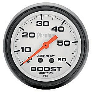 Autometer Phantom Boost Gauge 60 psi #5705