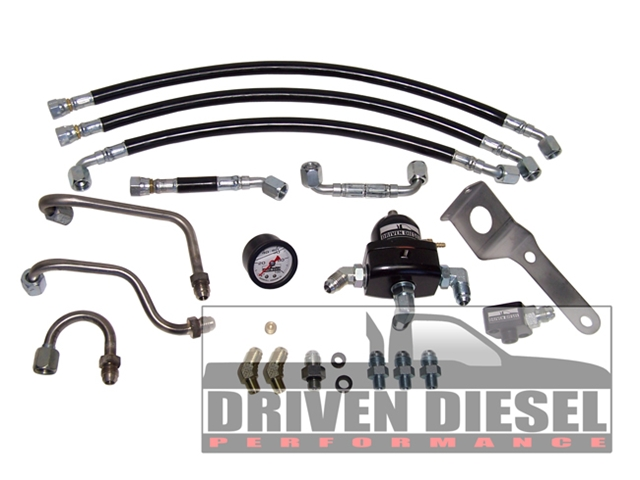 Driven Diesel 7.3 Regulated Return kit (retains stock bowl) (This item is drop shipped from Driven Diesel)