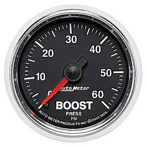 AutoMeter GS Series 60 psi Boost Gauge #3805