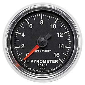 AutoMeter GS Series Pyrometer #3844