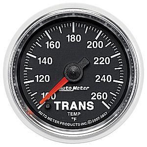 AutoMeter GS Series Transmission Temp Gauge #3857