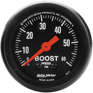 AutoMeter Z-Series 60 psi Boost Gauge #2617