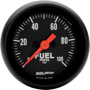 AutoMeter Z Series Fuel Pressure 0-100 psi #2663