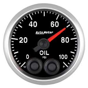 Autometer Elite Series Oil Pressure 0-100 PSI #5652