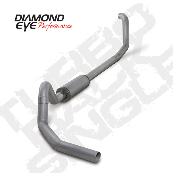 94'-97' 4-Inch Aluminized Turbo Back Single Exhaust # K4307A
