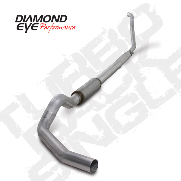 94'-97' 5-Inch Aluminized Turbo Back Single Exit Exhaust # K5315A