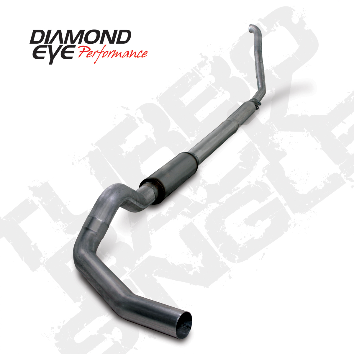 94'-97' 5-Inch Stainless Turbo Back Single Exit Exhaust # K5315S