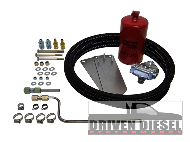 Driven Diesel Ford 7.3 Fuel Tank / Pre Pump Kit (Hutch Mod) (This item is drop shipped from Driven Diesel)