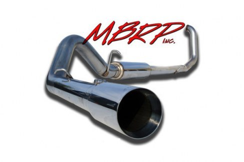 MBRP 4 inch T409 Stainless Steel Turbo Back Single Exhaust (Excursion)(Drop ships from Supplier)