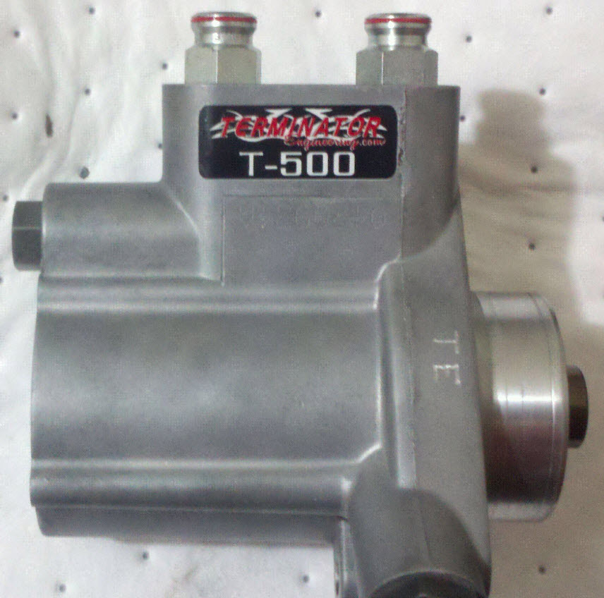 T500- Use Customer supplied pump