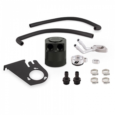 Mishimoto BAFFLED OIL CATCH CAN KIT, FITS FORD 6.7L POWERSTROKE 2011–2016